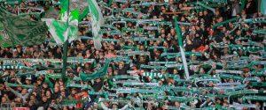 Bremen, 12. December 2015 Sport, Fussball, Saison 2015/2016, 1. Bundesliga, 16. Spieltag, SV Werder Bremen - 1. FC Köln: Fankurve von Werder Bremen  © objectivo / Christoph Kugel, www.objectivo.net, info@objectivo.net +++ Abdruck oder Veröffentlichung nur gegen Honorar, namentliche Nennung und Belegexemplar +++