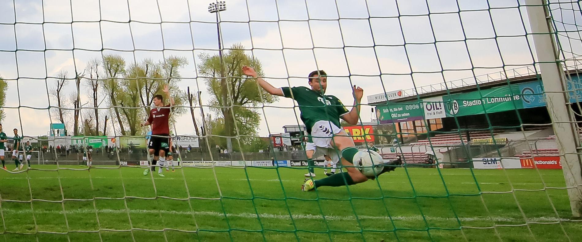 Tor zum 2:0 durch Stefan Richter (VfB Lübeck)