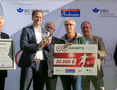 VfB Lübeck erster Sieger des NFV-Zukunftspreises!