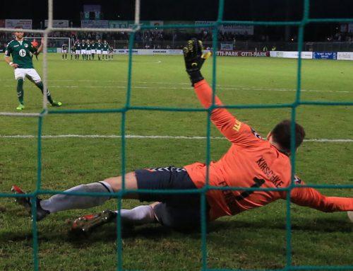 Großer Pokalfight nicht belohnt – VfB unterliegt im Elfmeterschießen