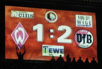 DFB-Pokalhalbfinale Werder Bremen