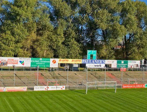 VfB Lübeck erhält Genehmigung für Umbau der Tribüne – Neues Brandschutzkonzept für das gesamte Stadion macht Auflagen hinfällig