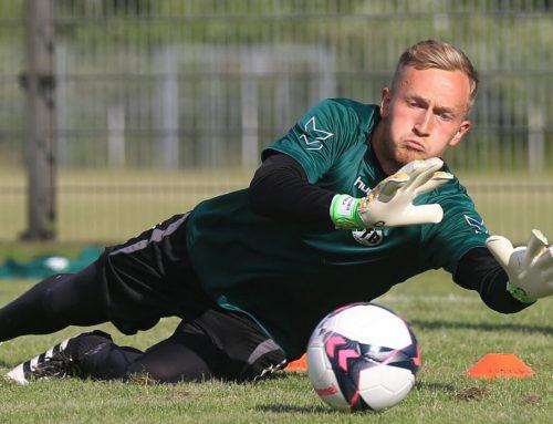 Mit VfB-Keeper Alexander Langer: Keeper Academy auf der Lohmühle