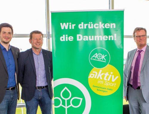 VfB Lübeck und AOK beschließen Gesundheitspartnerschaft