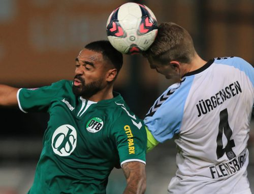 VfB unterliegt Flensburg 0:4