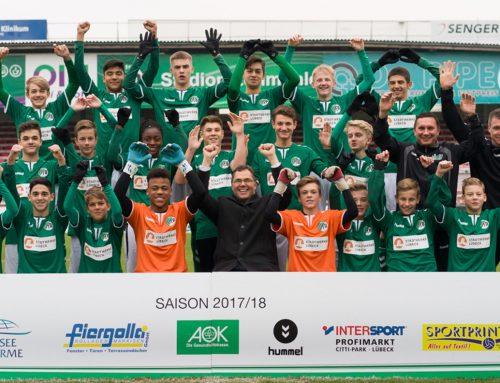 Stadtwerke Lübeck offizieller Energiepartner des VfB Lübeck