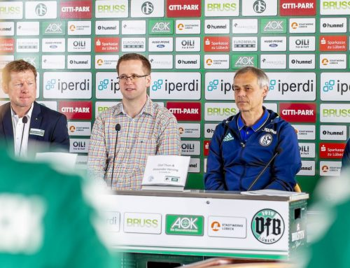 Botschafter Olaf Thon wirbt für den AOK-Knappenkids-Cup