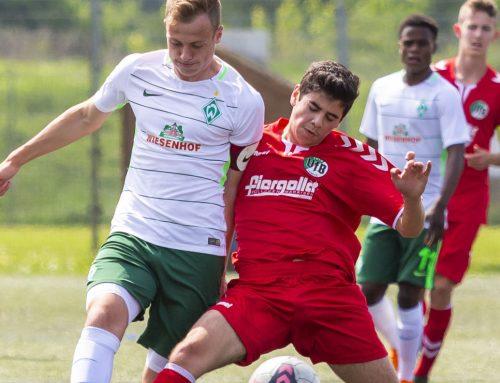 U15 punktet in Meppen – U17 verliert nach Führung