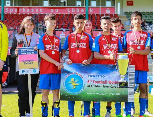 Campus Kicker verteidigen Deutschen Meistertitel der Kinder- und Jugendhilfe