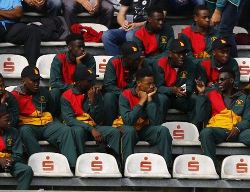 Internationale Jugendbegnung: Simbabwe-Auswahl auf der Lohmühle zu Gast
