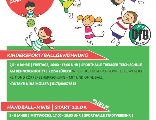 Kindersport beim VfB Lübeck