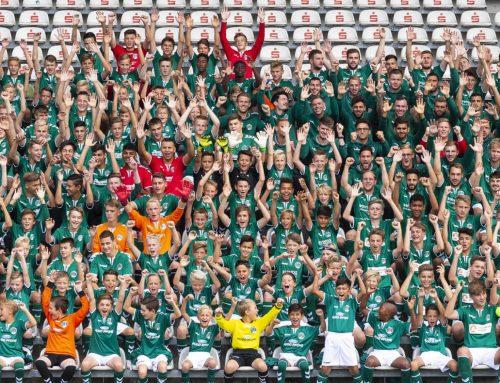 Sonntag, 12 Uhr:  U16-Meisterehrung im Stadion
