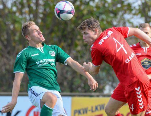 Samstag, 14 Uhr: U23 empfängt SV Eichede