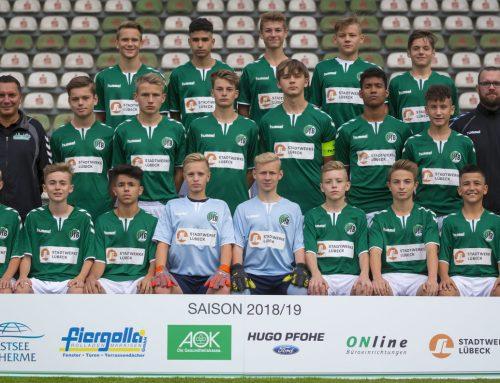 Samstag, 14 Uhr: U15 zu Gast in Bremerhaven