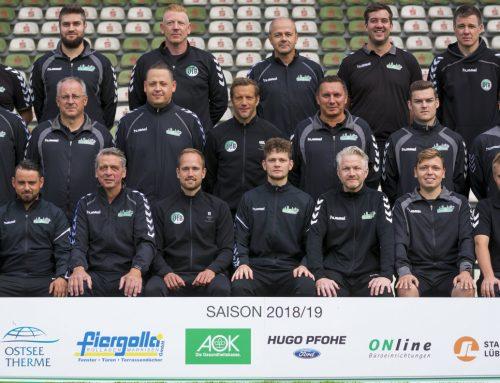 Trainerfortbildung beim VfB Lübeck: Techniktraining im Kleinfeldbereich