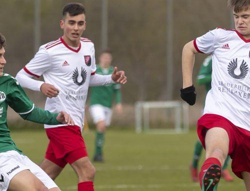 U17 feiert Kantersieg – U19 und U15 mit herben Enttäuschungen