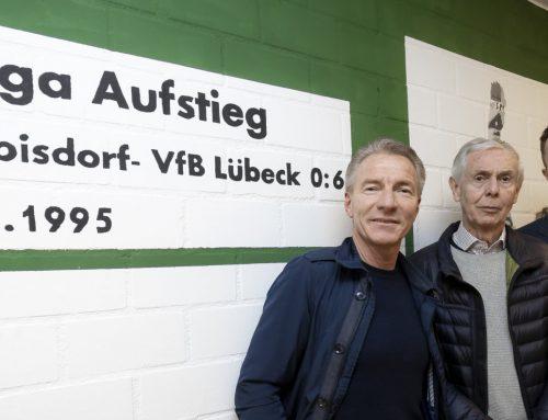 VfB-Familie weiht neu gestalteten Kabinentrakt ein