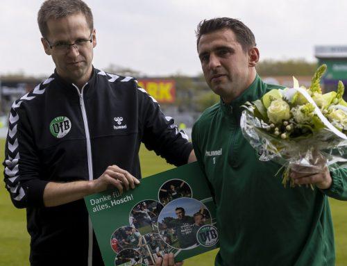 VfB verabschiedet Stefan Richter, Aleksandar Nogovic und Nico Löffler