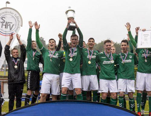 Samstag, 14 Uhr: U15 empfängt Werder Bremen im Stadion – U17 feiert Pokalsieg, U16 die Meisterschaft