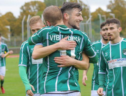 Dritter Sieg in Folge – U23 bezwingt Risum-Lindholm mit 4:2 (2:1)