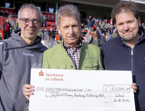 12.019,19 € zugunsten der Tafelstiftung Schleswig-Holstein-Hamburg