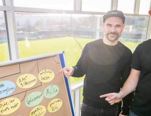 VfB macht Schule: VIP-Raum wird zum Klassenzimmer