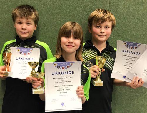 3 VfB Kids für Landesmeisterschaften qualifiziert
