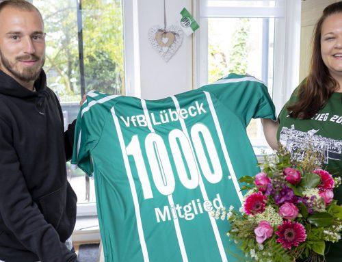 Moin, Alexandra! Der VfB begrüßt das 1.000 Vereinsmitglied